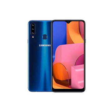 "Picture of Samsung Galaxy A20s Dual Sim LTE, 6.5"" 32 GB - Blue"
