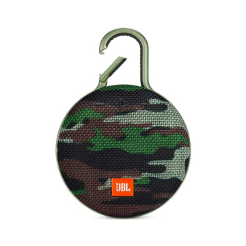 Picture of JBL Clip 3 Waterproof Portable Bluetooth Speaker - Squad