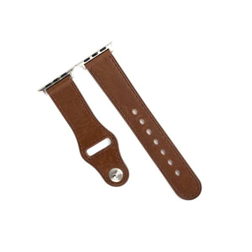 Picture of Promate Genuine Leather Strap 42mm Apple Watch - Brown