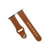 Picture of Promate Genuine Leather Strap 42mm Apple Watch - Light Brown