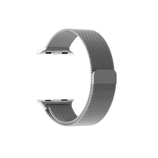 Picture of Promate Magnetic Milanese Loop 42mm Apple Watch - Silver