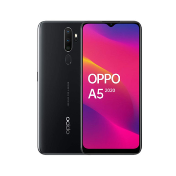 Picture of OPPO A5 2020 Daul Sim , 4G 64GB , Ram 3GB - Black