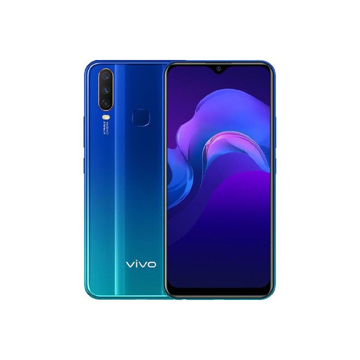 Picture of vivo Y15 64GB, 4G - Aqua Blue