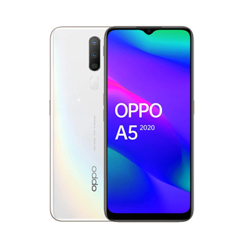 Picture of OPPO A5 2020 Daul Sim , 4G 64GB , Ram 3GB - White