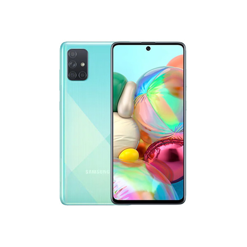 "Picture of Samsung , Galaxy A71 Dual Sim LTE, 6.7"" 128GB - Blue"