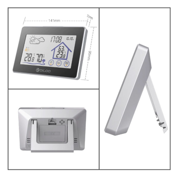 Picture of Digoo DG-TH8380 Touch Indoor Outdoor Weather Station