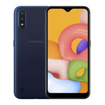 Picture of Samsung Galaxy A01, 16GB, Ram 2GB  - Blue