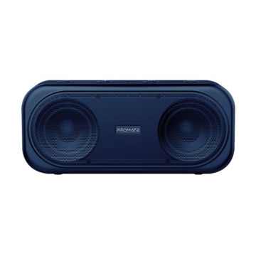 Picture of Promate Portable Dynamic Stereo Speaker Navy - BLUE