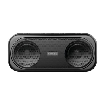 Picture of Promate Portable Dynamic Stereo Speaker Navy - BLACK