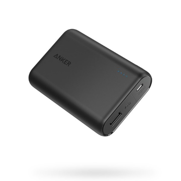 Picture of Anker PowerCore Portable PowerBank 10,000 mAh - Black