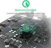 صورة انكر باوربور+ شاحن جداري يدعم الشحن السريع QC3.0 مع كابل Micro USB - اسود