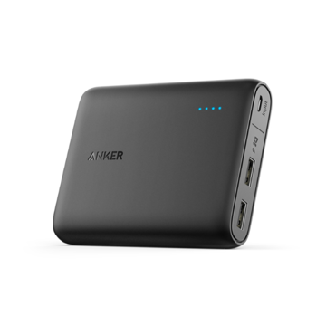 Picture of Anker PowerCore Portable PowerBank 10,400 mAh - Black