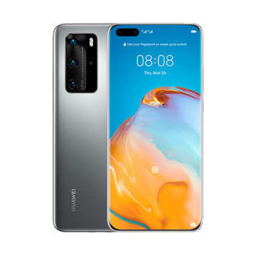 Picture of Huawei P40 Pro Dual 5G 256GB, Ram 8GB - Silver Frost Grey