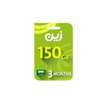 Picture of Zain Internet Recharge Card 150GB – 3 months