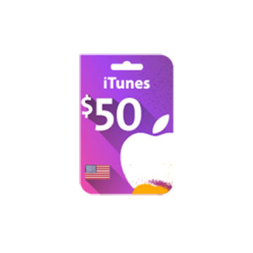 Picture of iTunes Gift Card $50 (US Store)