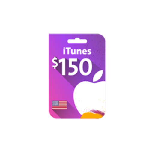 Picture of iTunes Gift Card $150 (US Store)