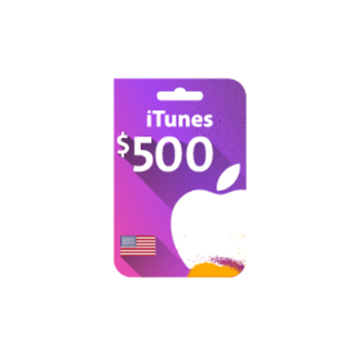 Picture of iTunes Gift Card $500 (US Store)