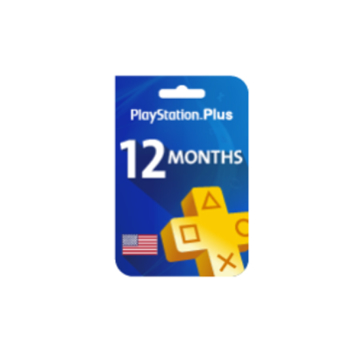 Picture of Playstation Plus 12 Months (United States Store)