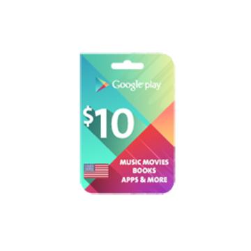 الصورة: جوجل بلاي $10 (المتجر الأميركي)