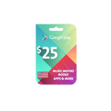 Picture of Google Play $25 (US Store)