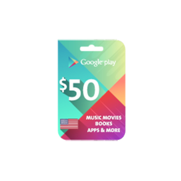 Picture of Google Play $ 50 (US Store)