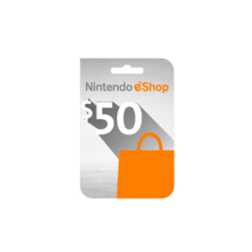 Picture of Nintendo eShop $50 Card