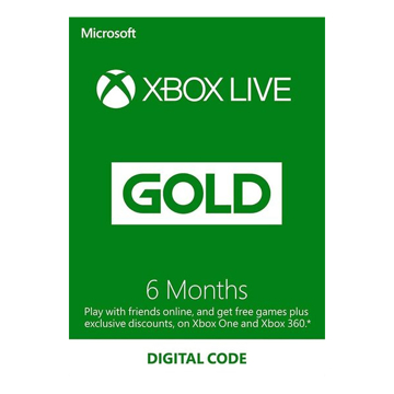 Picture of Microsoft Xbox Live - 6 Months (Saudi Store)