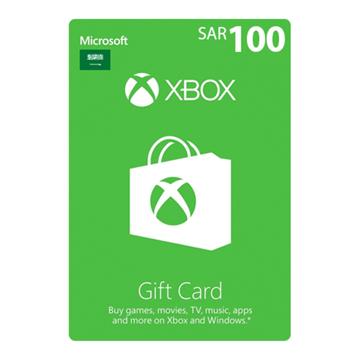 الصورة: بطاقة مايكروسوفت إكس بوكس لايف - 100 ريال (المتجر السعودي)