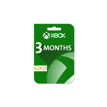 Picture of Xbox Live Gold 3 Months Subscription