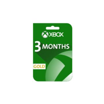الصورة: بطاقة إكس بوكس لايف - إشتراك 3 شهور (المتجر الأمريكي و الأوروبي)
