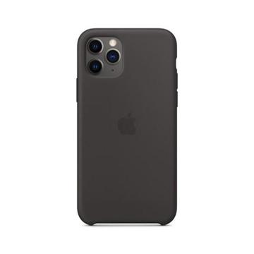 الصورة: ابل غطاء حماية خلفي سيليكون لاجهزة ابل iPhone 11 Pro - أسود