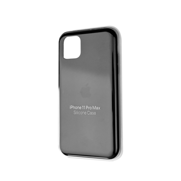 Picture of Apple iPhone 11 Pro Max Silicone Case - Black