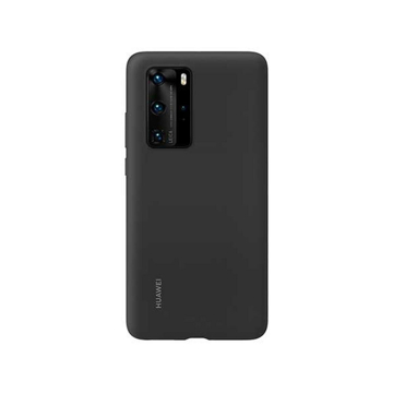 Picture of Huawei P40 Pro Silicone Case - Black