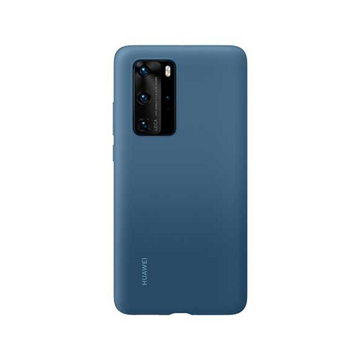 Picture of Huawei P40 Pro Silicone Case - Ink Blue