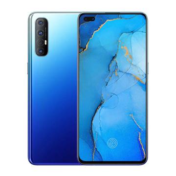 الصورة: اوبو رينو3 برو سعة 256 جيجابايت الجيل الرابع (4G) ثنائي الشريحة - أزرق أورورا