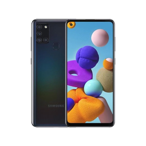 "Picture of Samsung Galaxy A21s Dual Sim LTE, 6.5"" 64 GB - Black"