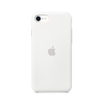 الصورة: ابل غطاء حماية خلفي سيليكون لاجهزة ابل iPhone SE  - ابيض