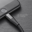 Picture of Anker PowerLine+ ll Lightning Cable - 6ft - Black