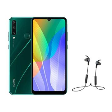 Picture of Bundle Huawei Y6p Dual Sim, 4G, Ram 3GB,  64GB -  Emerald Green
