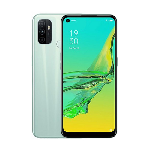 Picture of OPPO A53 Daul Sim , 4G, 128 GB , Ram 6 GB - Mint Green