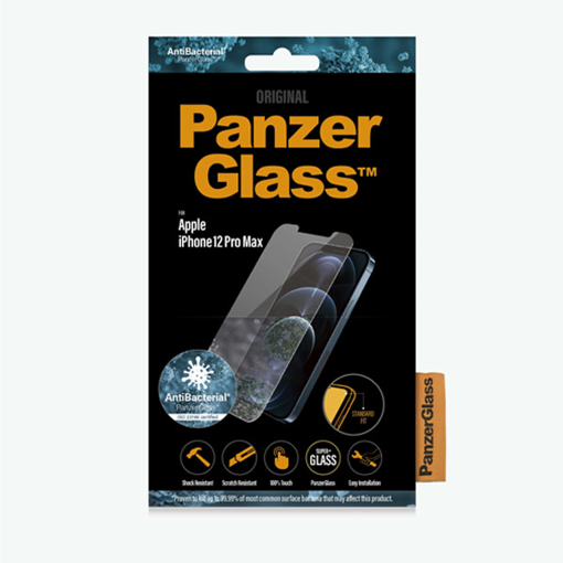 "Picture of Panzer Glass For iPhone 12 pro Max (6.7"") 2020 Standard Fit"
