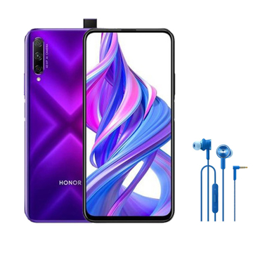 Picture of Bundle Honor 9x Pro Dual 4G 256 GB, Ram 6 GB - Phantom Purple