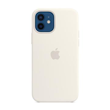 الصورة: ابل غطاء حماية خلفي سيليكون لاجهزة ابل iPhone 12 - 12 Pro - أبيض