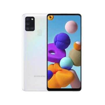 "Picture of Samsung Galaxy A21s Dual Sim LTE, 6.5"" 128 GB - White"