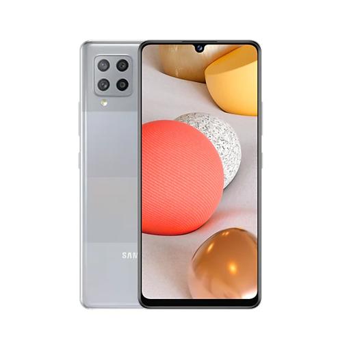 "Picture of Samsung Galaxy A42 Dual Sim 5G, 6.6"" 128GB - Light Gray"