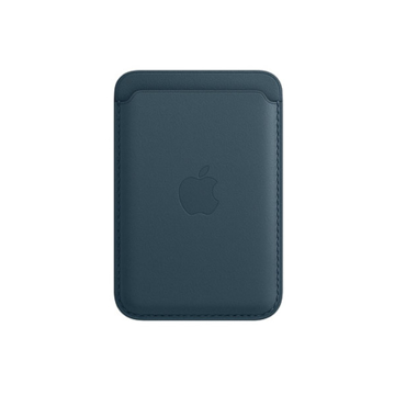 Picture of iPhone Leather Wallet with MagSafe - Baltic Blue