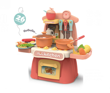 Picture of Family Center Kitchen Play Set w/Light & Music