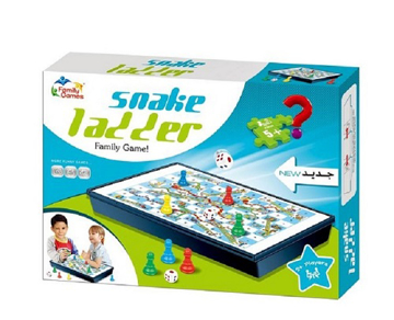 Picture of Family Time Snake And Ladder Play Set