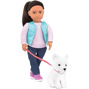 الصورة: Our Generation Cassie Doll with Pet Dog