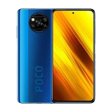 Picture of Xiaomi POCO X3 NFC, 4G, 128 GB , Ram 6 GB - Cobalt Blue